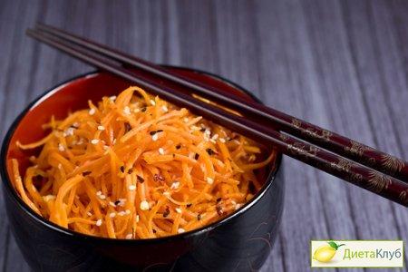 салаты по корейски, рецепты салатов по корейски