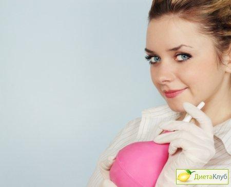 клизмы для очищения кишечника фото
