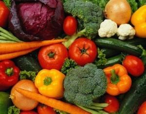 диета из овощей