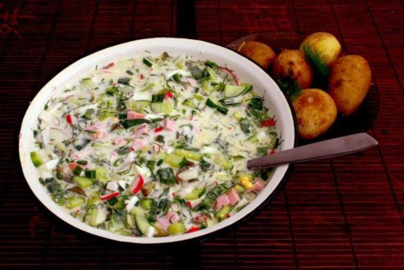 блюда для низкоуглеводной диеты рецепт окрошки